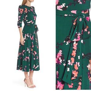 Eliza J floral midi dress